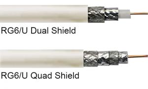 RG6Q 케이블과 RG6 케이블 중 선택